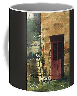 Red Door Coffee Mug