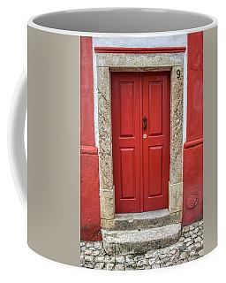Red Door Nine Of Obidos Coffee Mug