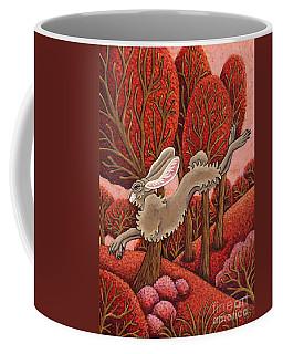 Red Forest Run Coffee Mug