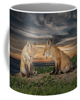 Red Fox Kits - Past Curfew Coffee Mug