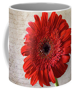 Red Gerbera Coffee Mug