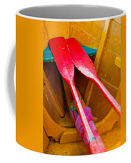 Red Oars Coffee Mug