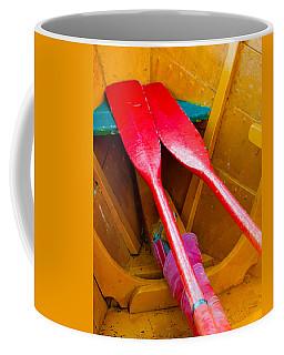 Red Oars Coffee Mug