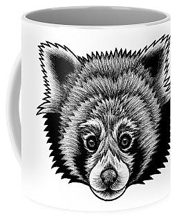 Red Panda - Ink Illustration Coffee Mug