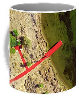 Red Pier Coffee Mug