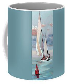 Red Right Returning Coffee Mug