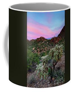 Red Sky Cholla Coffee Mug