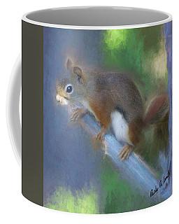 Red Squirrel Portrait. Coffee Mug
