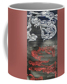 Red Strangles White Cells Coffee Mug