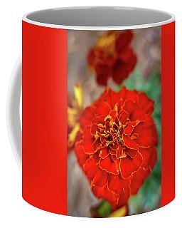 Red Summer Flowers Coffee Mug