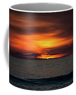 Coffee Mug featuring the photograph Red Sunrise by Lora J Wilson