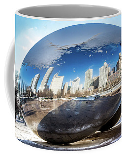Reflecting Bean Coffee Mug