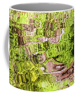 Coffee Mug featuring the photograph Reflection Abstract by Kate Brown