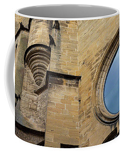 Coffee Mug featuring the photograph Reflection, Sarlat, France by Mark Shoolery
