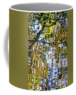 Reflections In Blue Coffee Mug