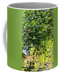 Reflections In Green Coffee Mug