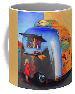 Reflections On An Airstream Coffee Mug