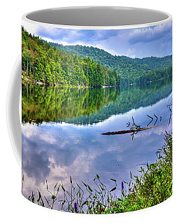 Coffee Mug featuring the photograph Reflections On Sis Lake by David Patterson