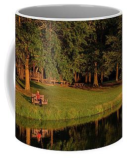 Reflective Contemplation Coffee Mug