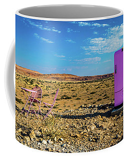 Refreshments Pit Stop In The Middle Of Nowhere Coffee Mug