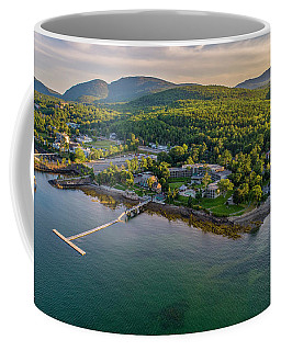 Coffee Mug featuring the photograph Regent Views by Michael Hughes