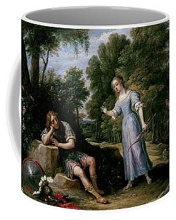 'reinaldo Enamorado De Armida, En La Isla De Orontes', 1628-1630, Flemish School,... Coffee Mug