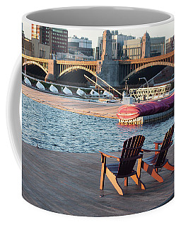 Relaxing On The River Coffee Mug