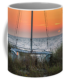 Resting On The Beach Coffee Mug