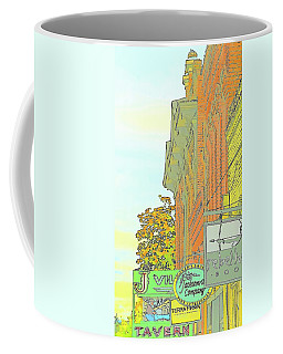 Coffee Mug featuring the photograph Retail Jacksonville by Jerry Sodorff