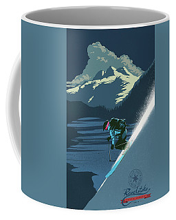 Retro Revelstoke Ski Poster Coffee Mug