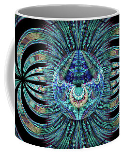 Coffee Mug featuring the digital art Revelation by Missy Gainer
