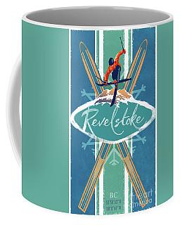 Revelstoke Ski Poster Coffee Mug
