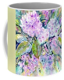 Rhododendron Spring Garden Coffee Mug