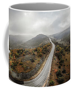 Coffee Mug featuring the photograph Ridgeway by Okan YILMAZ