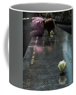 Coffee Mug featuring the photograph R. I. P.  Sweet Brother by Mike Long