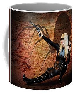 Rise Of The Black Widow Coffee Mug