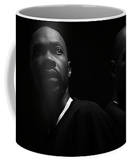 Coffee Mug featuring the photograph Rivals. by Eric Christopher Jackson