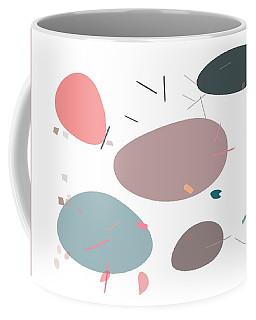 Coffee Mug featuring the digital art River Bank by Marianna Mills