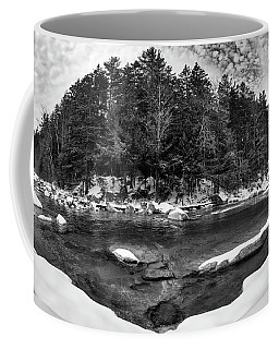 Coffee Mug featuring the photograph River Bend, Rocky Gorge 2 N H by Michael Hubley