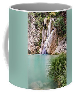 River Neda Waterfalls Coffee Mug