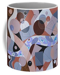River Of Eyes Coffee Mug