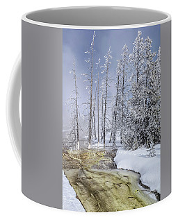 Coffee Mug featuring the photograph River Of Gold - Jo Ann Tomaselli by Jo Ann Tomaselli