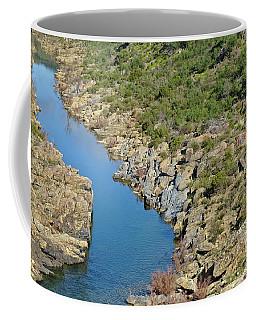 River On The Rocks. Color Version Coffee Mug