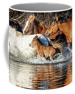 Coffee Mug featuring the photograph River Run by Mary Hone
