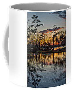 Riverside Sunset Coffee Mug