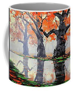 Riverside Trees Coffee Mug