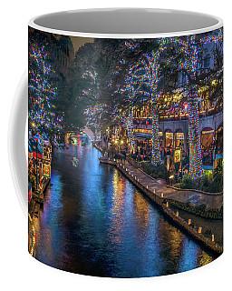 Riverwalk Christmas Lights Coffee Mug