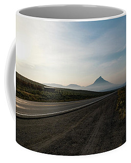 Coffee Mug featuring the photograph Road Through The Rockies by Nicole Lloyd