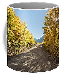 Road To Mountain Layers Coffee Mug