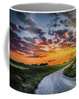 Road To Sunset Coffee Mug